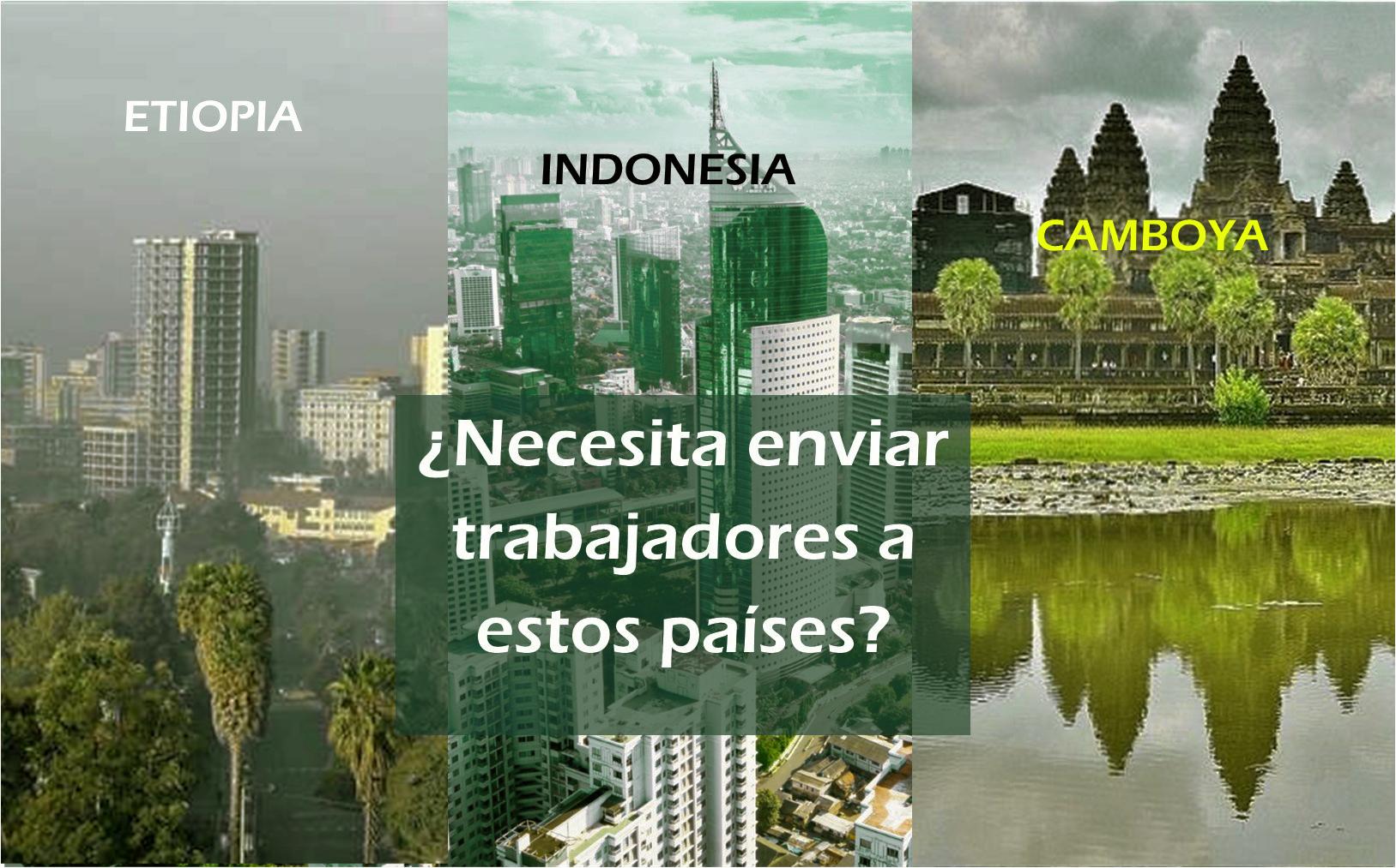 Visados a Indonesia