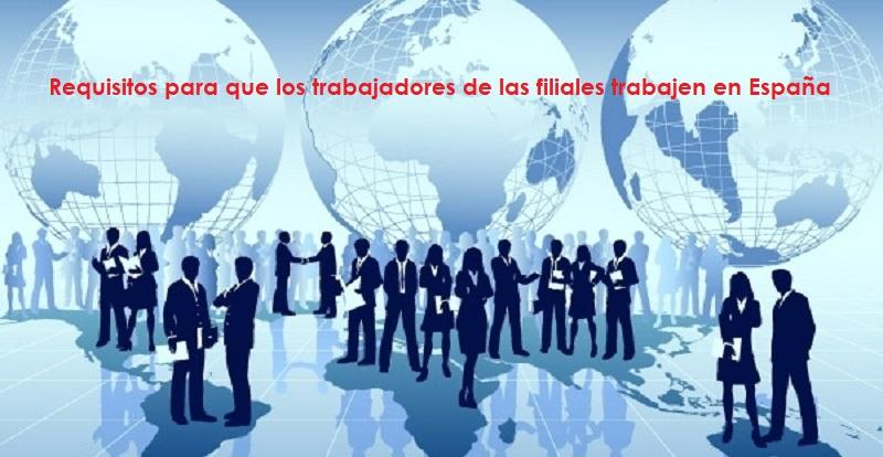 Filiales trabajar en España