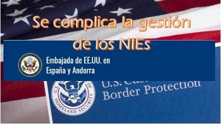 Visados EE.UU: se complican los NIEs por la gestión de los refugiados procedentes de Afganistán
